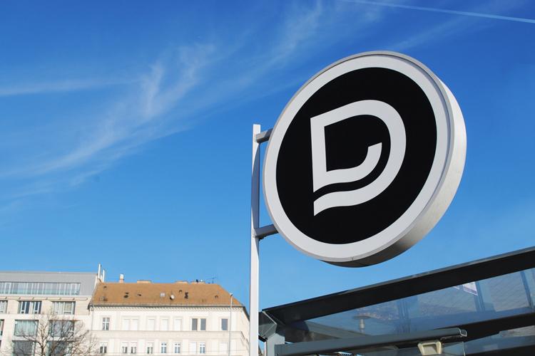 Vizuální styl dopravního podniku v Budapešti