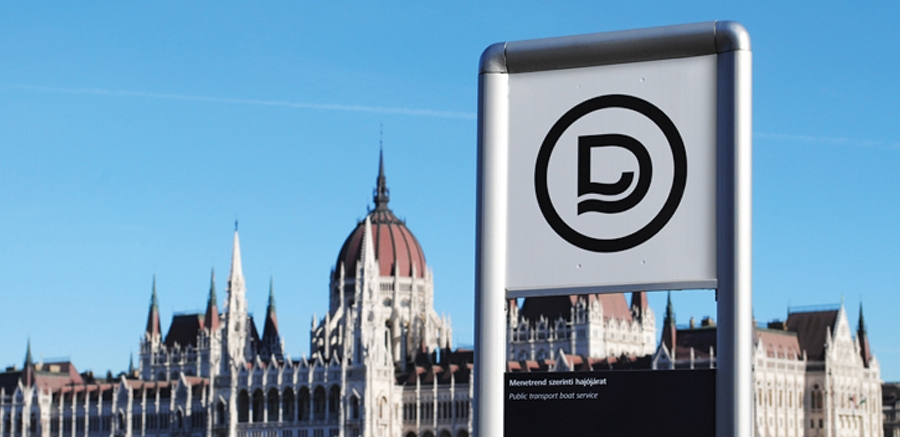 Nový vizuální styl dopravního podniku v Budapešti