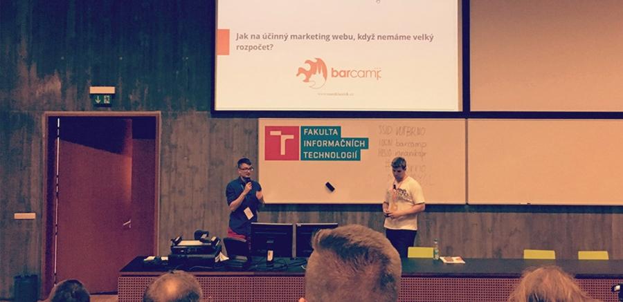 Uvidíme se na Barcampu v Brně