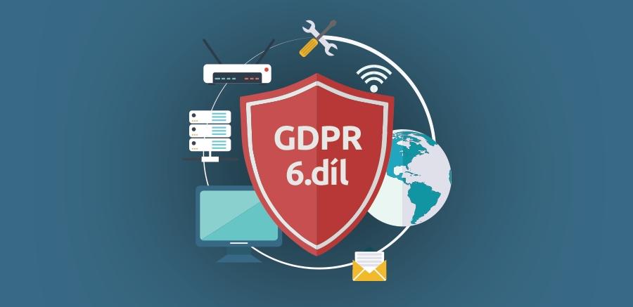 Nezapomeňte na interní směrnice pro GDPR