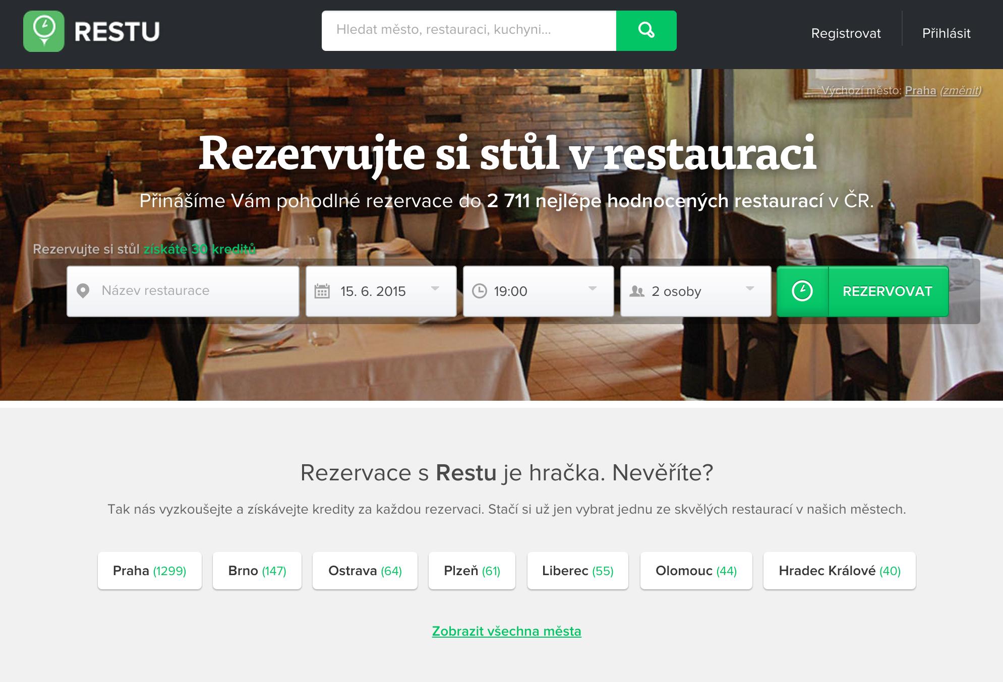 Reklama pro restaurace, pizzerie nebo vinárny